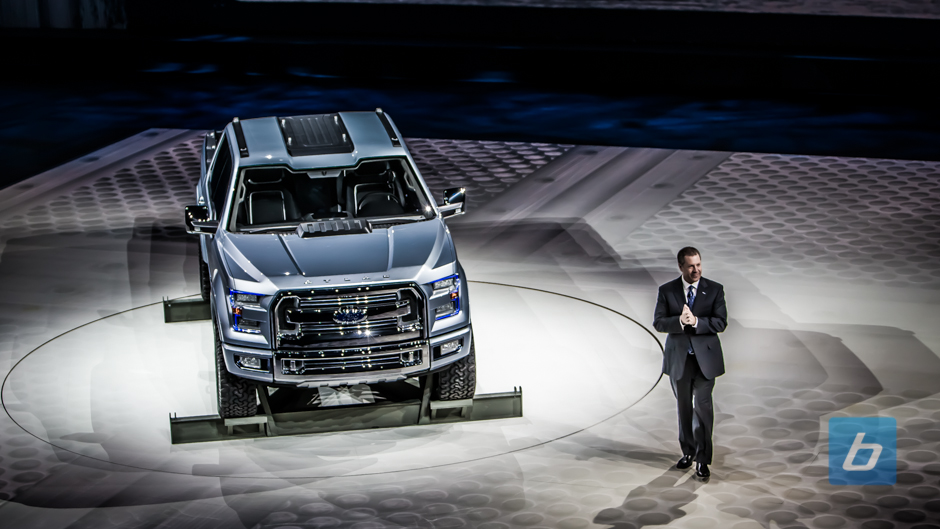 Ford Unveils F-150 Preview: Ford Atlas Concept