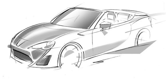 Toyota To Unveil FT-86 Open Concept in Geneva