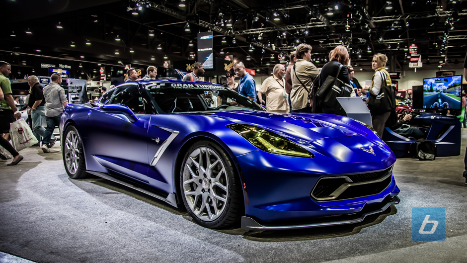 Chevrolet Corvette Stingray Gran Turismo Edition at SEMA
