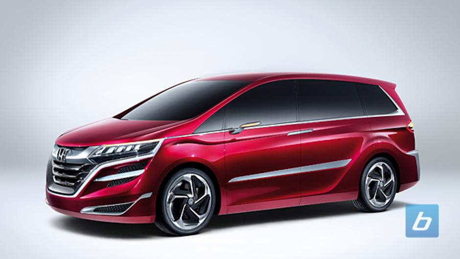 Shanghai: World Premier of Honda Concept M Minivan