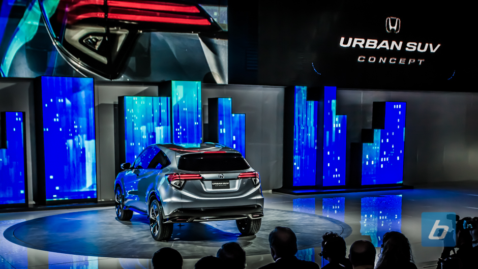 Back to Post - Honda Unveils Urban SUV Concept, Fit Crossover