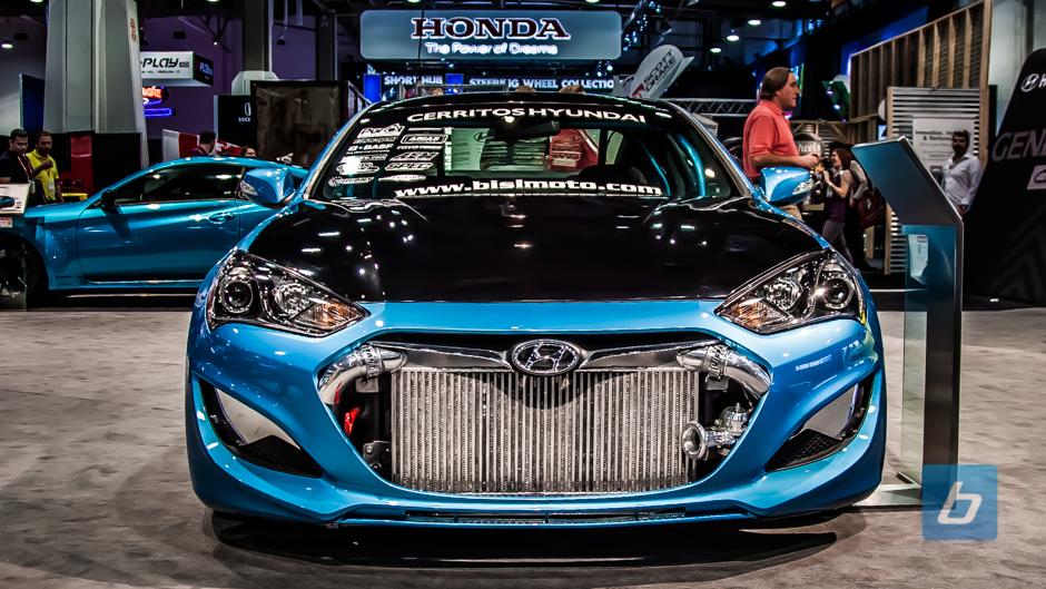 Hyundai SEMA 2013 Booth Tour