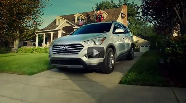 "Hyundai ""Epic Playdate"" Super Bowl Ad for New Santa Fe"