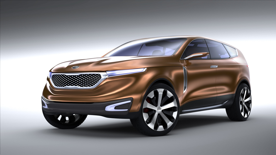 Kia Unveils Cross GT concept in Chicago