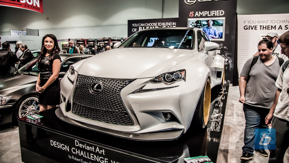 Lexus SEMA 2013 Booth Tour