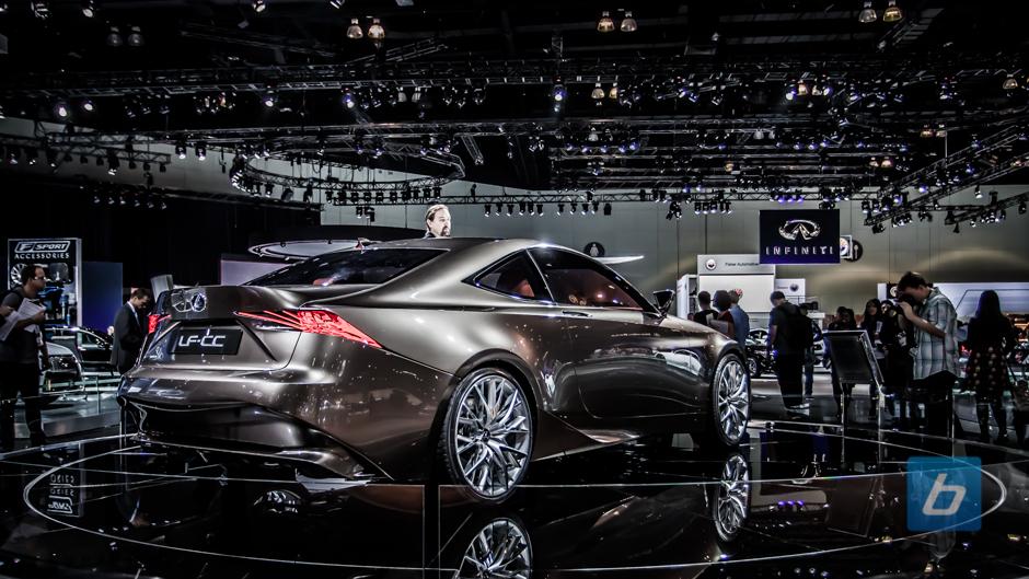 Lexus Bringing Newest Sport Coupe To Detroit