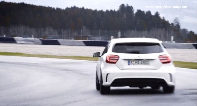 Mercedes-Benz A45 AMG Trailer