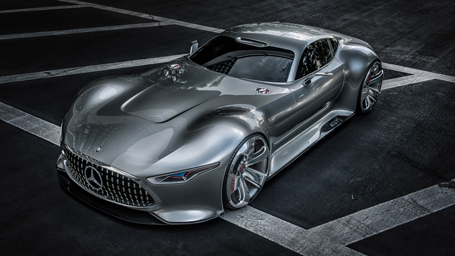 Virtual Reality: Mercedes-Benz AMG Vision Gran Turismo