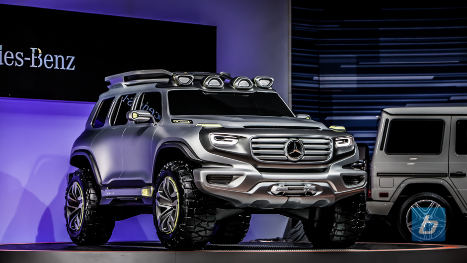 Up close and personal with the Mercedes-Benz Ener-G-Force