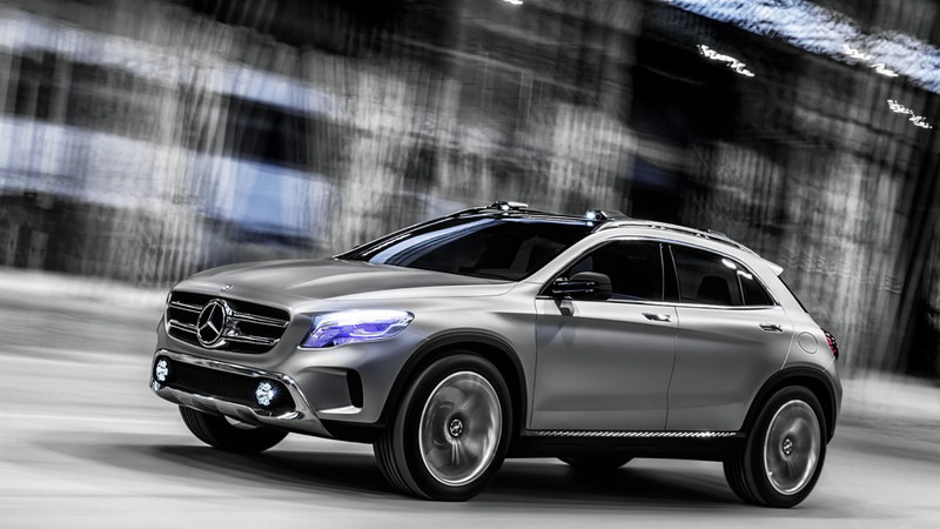 Shanghai Preview: Mercedes-Benz GLA Concept