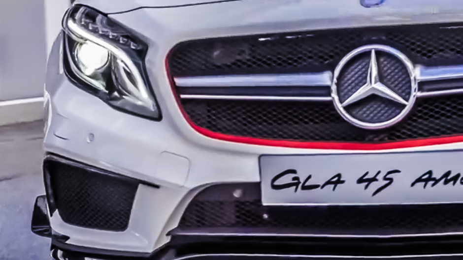 The GLA45 AMG is Just Around the Corner