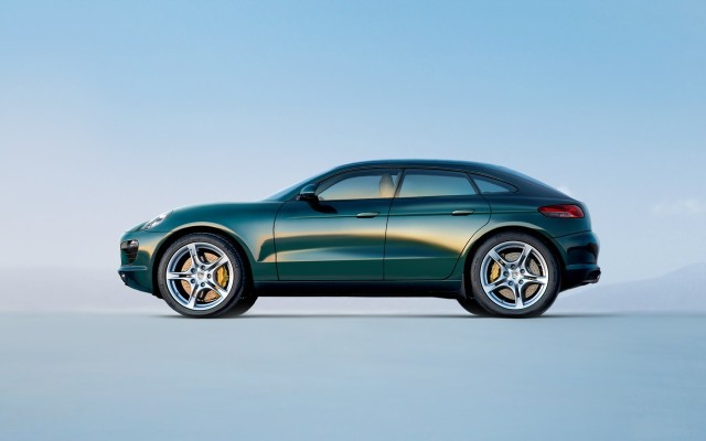 Porsche macan redesigned after range rover evoque release