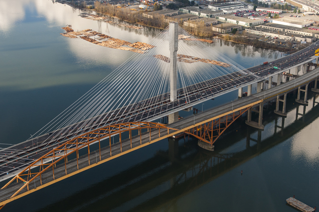 New World's Widest Port Mann Bridge Opens
