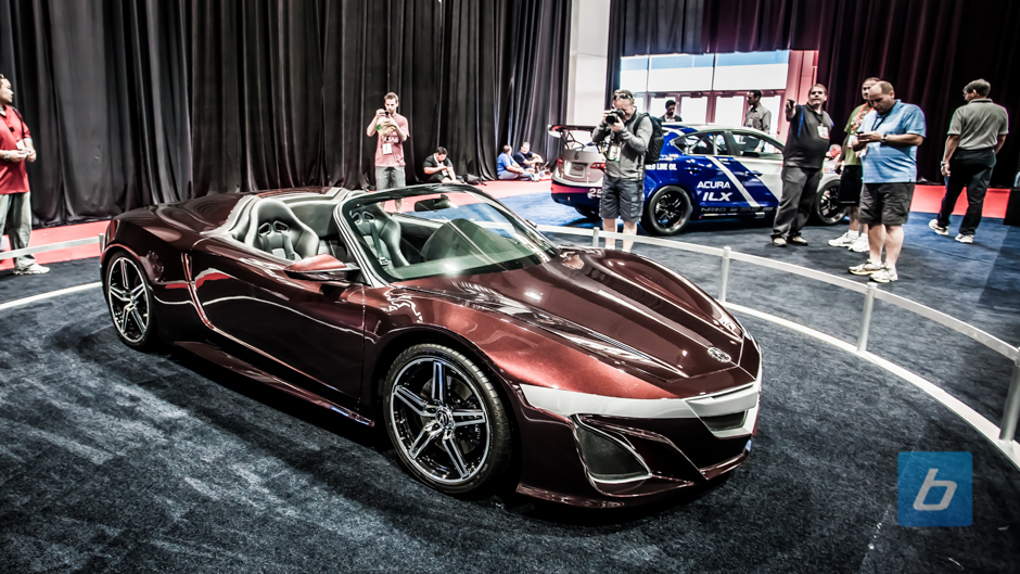 Will Acura show Updated NSX Concept in Detroit?