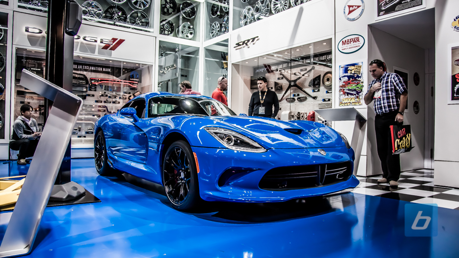 What will be the name of the Blue Paint on this Viper?