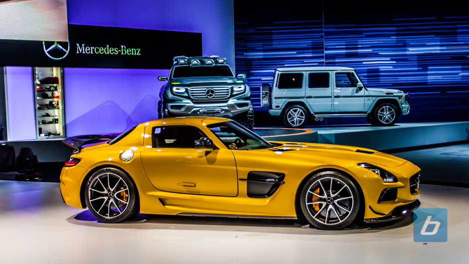 Sls Black Series >> Sls Amg Black Series Debuts In Los Angeles