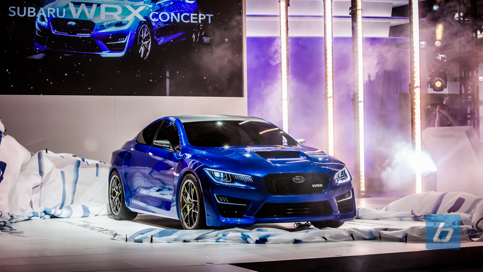 New Subaru WRX Concept Breaks From Impreza Roots