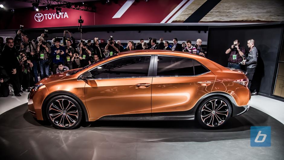 Toyota Unveils Corolla Furia Concept