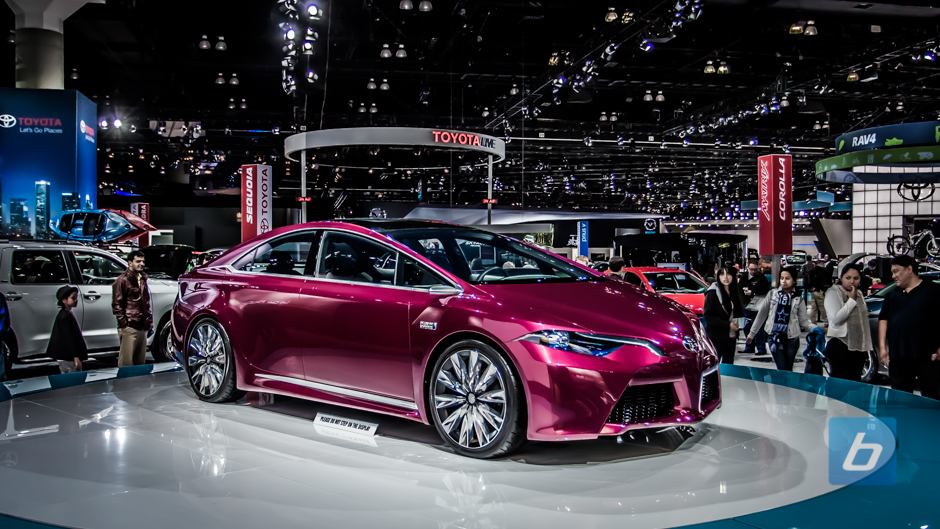 Will We See Updated Toyota NS4 Plug-In Hybrid Concept in Detroit?