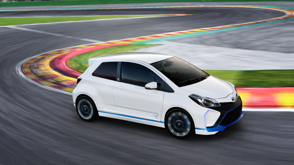 Toyota Unleashes Yaris Hybrid R Concept in Frankfurt