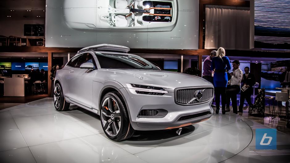 Volvo Unveils The Concept Xc Coupe