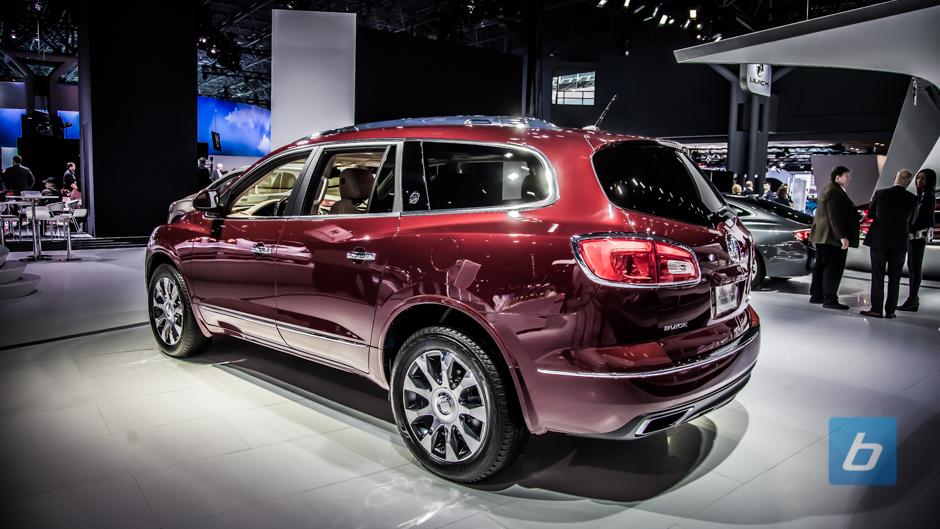Buick's 2017 Enclave Sport Touring, Encore Facelift